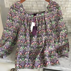 Liberty of London for J Crew blouse